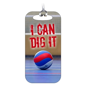 Volleyball Bag Tag