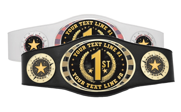 Champion Belt | Award Belt for First Place