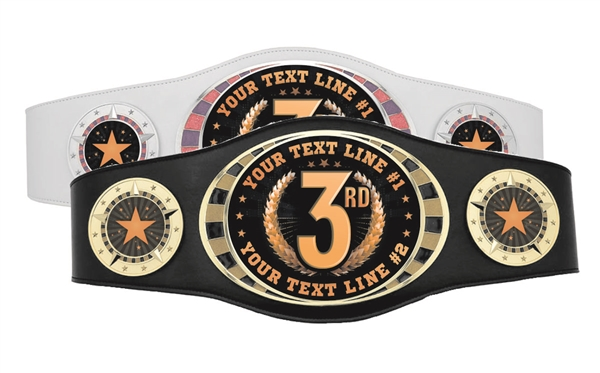 Champion Belt | Award Belt for Third Place