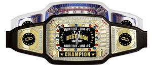 Champion Award Belt for Bestman
