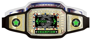 Champion Award Belt for Football