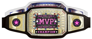 Champion Award Belt for MVP