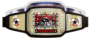 Champion Award Belt for Wrestling