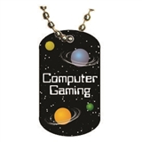 Video Gaming Dog tag