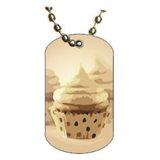 Baking Dog tag