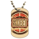 Skeet Shooting Dog tag