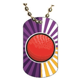 Dodgeball Dog tag