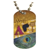 Fine Art Dog tag