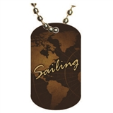 Sailing Dog tag