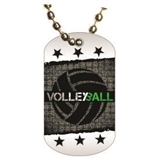 Volleyball Dog tag