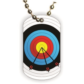 Archery Dog tag