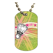 Badminton Dog tag