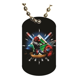 Baseball Dog tag