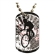 Cycling Dog tag