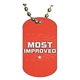 Most Improved Dog tag