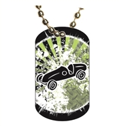 Pinewood Derby Dog tag