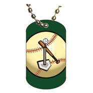 T-ball Dog tag