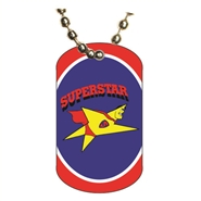 Star Performer Dog tag