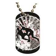 Wrestling Dog tag