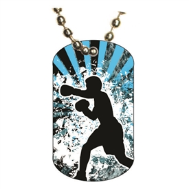 Boxing Dog tag
