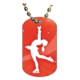 Figure Skating Dog tag