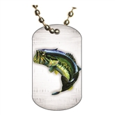 Fishing Dog tag