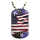 Flag Dog tag