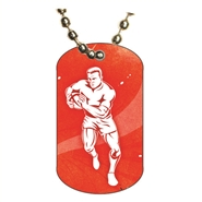 Rugby Dog tag