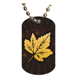 Autumn Dog tag