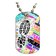 Running Dog tag
