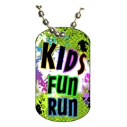 Kids Run Dog tag