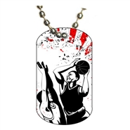 Basketball Dog tag