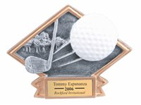 Golf Sculpted Resin Trophy