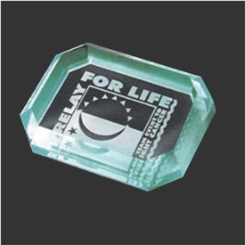 Acrylic Paperweight Award