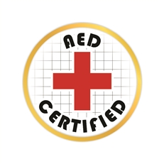 AED Certified Pin
