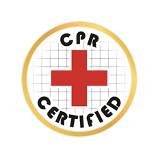 CPR Certified Pin