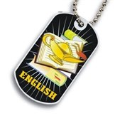 English Dog tag