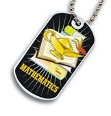 Math Dog tag