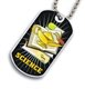 Science Dog tag