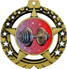 Weight Lifting Medal
