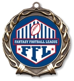 Fantasy Football League Medal