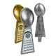 Antique Gold or Silver Fantasy Football Resin Award