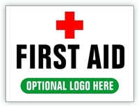Race Event I.D. & Information Sign | First Aid