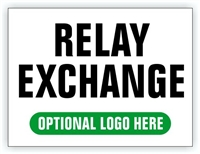 Race Event I.D. & Information Sign | Relay Exchange