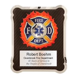 Firefighter Medical EMT Plaque