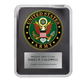 Army Plaque
