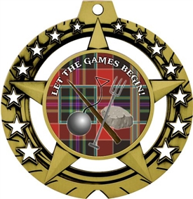 Highland Games Medal
