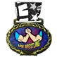 Arm Wrestling Medal in Jam Oval Insert | Arm Wrestling Award Medal