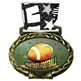 Fantasy Football Medal in Jam Oval Insert | Fantasy Football Award Medal