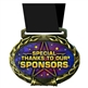 Special Thanks Medal in Jam Oval Insert | Special Thanks Award Medal